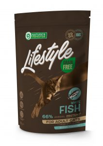 KIKA_400 g LIFESTYLE White Fish Adult Cat_Sonu