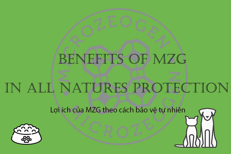 Thức ăn cho chó mèo duy nhất trên thế giới có chứa khoáng chất MicroZeoGen!